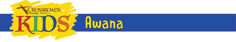 Kids Banner AWANA